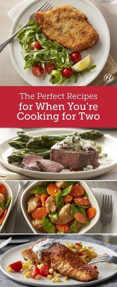 These delicious dinner designed for two are perfect for bold taste and avoiding waste. If you hate eating leftovers or are tired of cutting down recipes written for 4-6, these new recipes from the Betty Crocker Test Kitchens are made for you.