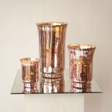 ANTIQUED BLUSH PINK ROSE GOLD LANTERNS AND TEA LIGHT VOTIVES FOR WEDDING OR PARTY DECOR     Candleholders Archives - Hire and Style   Hire and Style Rose Gold Lantern, Gold Lanterns, Hurricane Candle Holders, Pink Mirror, Candleholders, Event Styling, Event Decor, Flute, Tea Lights