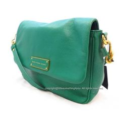 df08b62e79 MARC BY MARC JACOBS Crossbody - Too Hot To Handle Lea Soccer Pitch Green NWT