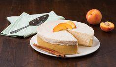 Organic Valley Cinnamon Peach Semifreddo Recipe