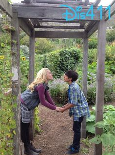 Photo: Peyton List Wished Karan Brar A Happy Birthday January 18, 2014