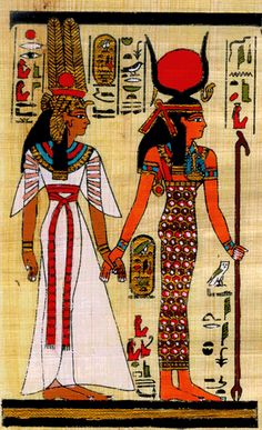 Egyptian Goddesses  In order to understand the Egyptian Goddesses it is important to take into account the Egyptian view of the cosmos. In Egypt the Goddesses represented different aspects of life and nature. It was also extremely common for an individual Goddess to represent more than one aspect e.g. Hathor who was a solar Deity and Goddess of joy, music, dance fertility and birth.