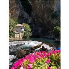 Discover the oriental architecture and natural beauties of Blagaj, situated near Mostar. Visit our website: www.tourguidemostar.com  #herzegovina #travel #tourguidemostar #blagaj #flowers #landscape #photography #river