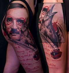 Incredible poe thigh piece!
