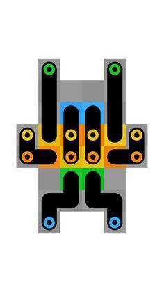 Quetzalcoatl 1Button SARL 제작 심플 두뇌 게임