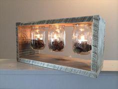 Pallet Wood Light Box | Pallet Furniture Plans