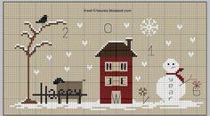 J'ai découvert ce matin sur son blog les petites étiquettes de Noël de Françoise .......