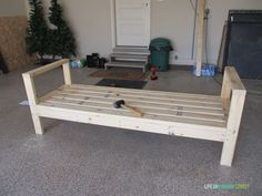DIY Outdoor couch sofa frame
