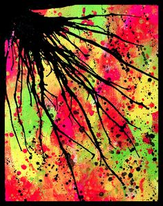 Choose your favorite splatter paint paintings from millions of available designs. All splatter paint paintings ship within 48 hours and include a money-back guarantee. Splatter Paint Artist, Splatter Art, Black Canvas Paintings, Paintings For Sale, Messy Art, Internet Art, High Art, Paint Furniture, Art Google
