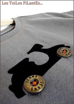 Pantacourt rouille et tee-shirt plomb5