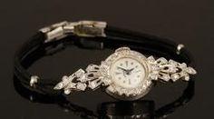 LADIES 14K GOLD AND DIAMOND HAMILTON WATCH Annual Holiday Auction | Official Kaminski Auctions