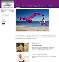 Trainers' Academy - http://trainersacademy.fi/ #nettisivut #kotisivut