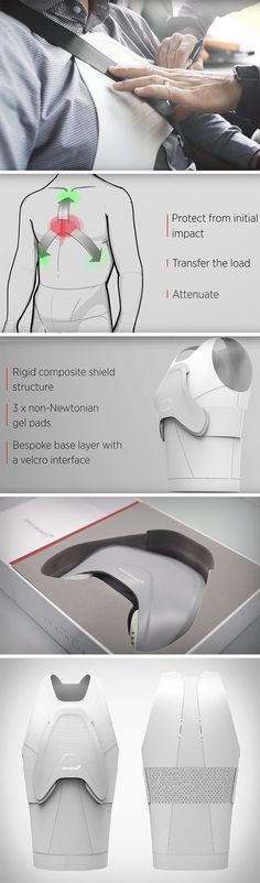 McLaren's Project Invincible has just developed a carbon fiber chest shield made from F1 racing car components. The high-speed giant of car racing has developed a personalized healthcare solution for those looking to help protect their vital organs post-surgery. The wearable shield protects the rib cage as well as the vital organs – including the heart and the lungs.
