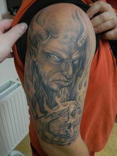 devil, tattoo-netty.cz, Jihlava