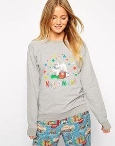 Enlarge Cath Kidston Holidays Lolita Printed Sleepwear Sweatshirt
