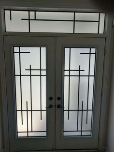 Wrought – ZEY – A1 Glass Inserts Home Window Grill Design, Window Glass Design, Grill Gate Design, Iron Window Grill, Window Grill Design Modern, Balcony Grill Design, House Outside Design, Steel Gate Design, Front Gate Design