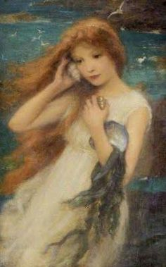 ♒ Mermaids Among Us ♒ art photography  paintings of sea sirens  water maidens   KD - Sounds of the Sea.