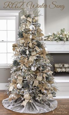 Raz 2017 Decorated Christmas Tree Purchase Products At Trendy