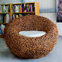 Spaghetti Chair Brown