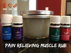 Pain Relieving Muscle Rub Recipe - Essential Oils