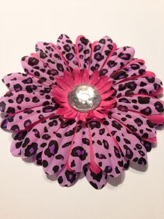 Flower Dog Collar  I.M. Cheetah Collection - Perfect for your Pooch.  Like and share our Facebook page.  https://www.facebook.com/pages/Isabellas-Pet-Shop/525414240872090