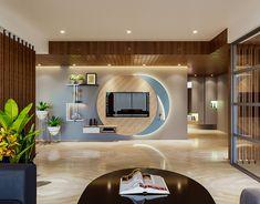 Tv Unit Furniture Design, Tv Unit Interior Design, Tv Unit Design, Tv Wall Design, Living Room Tv Unit, Living Area, Modern Tv Wall Units, Living Room Partition Design, Indian Home Interior