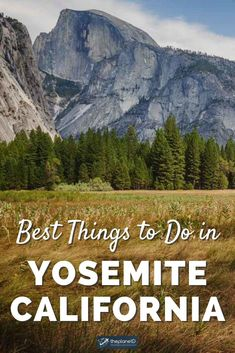 Yosemite is known for its mountain peaks, waterfalls and hiking trails. There are so many things to do in Yosemite, it requires a few days. Here are some of the best hiking trails and viewpoints to help you plan your vacation. | Blog by the Planet D | #Travel #Yosemite | yosemite things to do in | yosemite hikes | yosemite vacation Travel Yosemite, Yosemite Vacation, Yosemite Falls, Greatest Adventure, Adventure Awaits, Yosemite National Park, National Parks, Utah, Travel Photos
