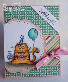 Birthday Girl by Scrapgirl1210 - Cards and Paper Crafts at Splitcoaststampers