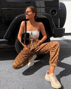 Visit our site for more Fashion and Trendy Outfits Grunge Outfits, Trendy Outfits, Cute Outfits, Fashion Outfits, Womens Fashion, Fashion Trends, Swag Fashion, Grunge Fashion, Fashion Pants