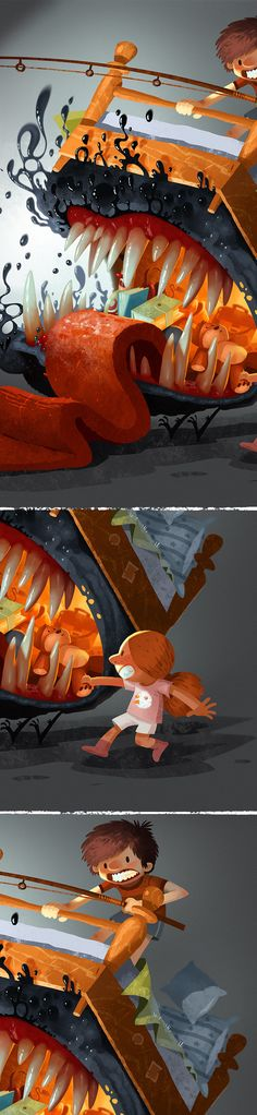Characters by Boris Bakliža, via Behance