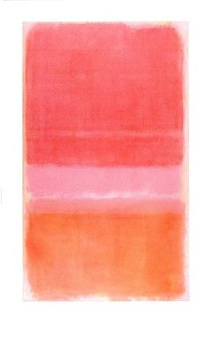 Looks like a Mark Rothko, which means its acrylic, probably 8ft or more