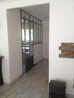 Verrière entre couloir et cuisine - Verrières-d'intérieur - Ghislain