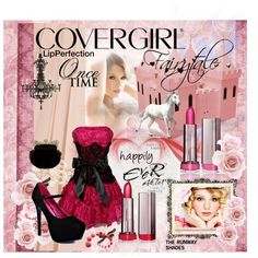 CONTEST: Transform your look with COVERGIRL - And then she lived happily ever after..., created by marie-guzik-mcauley on Polyvore