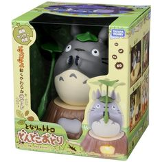 MY Neighbor Totoro LIGHT Dancing Figure Dondoko Odori LAMP Takara Tomy Ghibli