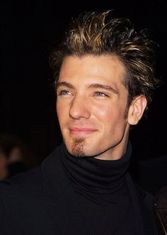 In the 90s frosted tips was the style...JC Chasez c. 2002