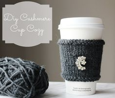Fancify her morning coffee | 10 Easy DIY Projects To Make For Mother's Day