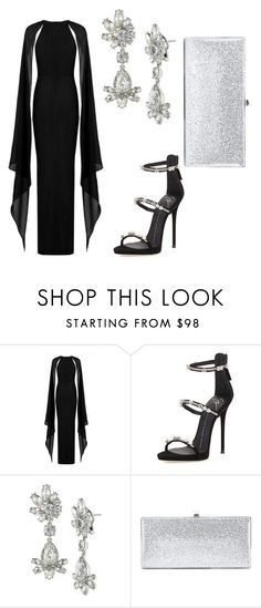 evening look by salutemekingeli on Polyvore featuring Giuseppe Zanotti, Jimmy Choo and Givenchy