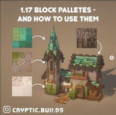 Plans Minecraft, Minecraft Blocks, Cute Minecraft Houses, All Minecraft, Minecraft House Designs, Minecraft Construction, Amazing Minecraft, Minecraft Tutorial, Minecraft Blueprints