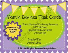 Poetry Writing Rubric  Middle School to College   Sisters Homeschool