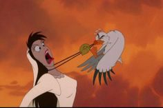 Scuttle and Vanessa, The Little Mermaid Disney Animated Movies, Disney Songs, Disney Movies, Disney Villains, Disney Characters, Fictional Characters, Ariels Sisters, Little Mermaid Characters, Disney Animation