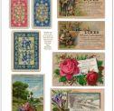 Vintage Digital Ephemera Cards- freebie downloads of printables