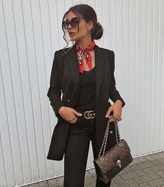 43 Office Outfits Highlight the Independent Side of Women suit, work outfits, office, handsome, work best sophisticated work attire and office outfits for women Office Outfits Women, Casual Work Outfits, Business Casual Outfits, Mode Outfits, Work Attire, Classy Outfits, Fashion Outfits, Womens Fashion, Fashion Trends
