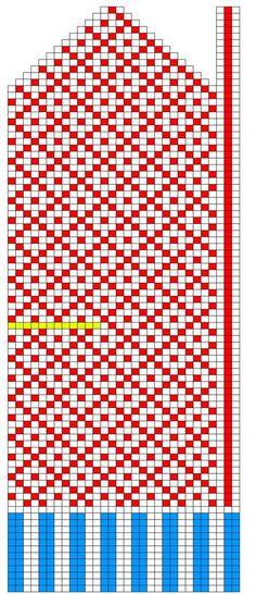 Mitt pyssel och inspiration - Knitted Mittens Pattern, Crochet Mittens, Filet Crochet, Knit Crochet, Knitting Charts, Hand Knitting, Knitting Patterns, Fair Isle Chart, Diagram Chart