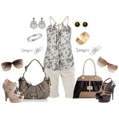 """""""Guess"""" Which Side..., created by yvonne2214 on Polyvore"""