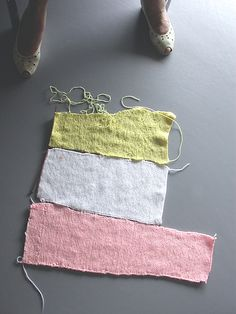 "isabelle jobard ""ecart""  image série ""tricot""  2009"