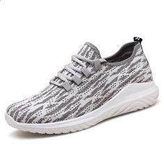buy popular a03a5 0572e Zapatos ocasionales de los hombres Zapatos tenis tejidos masculinos  respirables Tenis Masculino Zapatos Zapatos de los