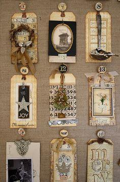 Paula Cheney Advent calendar