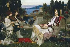 Giclee Print: Saint Cecilia by John William Waterhouse : 20x30in