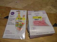 PARTY FAVOR BOXES AND TREAT TOPPERS. WILTON. NEW IN PACKAGE #Wilton #PARTYHOLIDAY