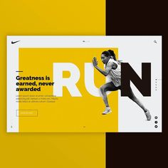 """900 Likes, 16 Comments - @creativroom on Instagram: """"NIKE - Web Concept by Leandro Bos on @behance ▪https://goo.gl/MHDkxG. . . Follow us  @creativroom…"""""""